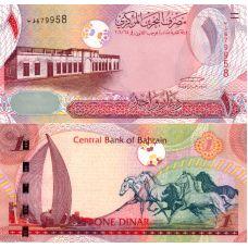 Bahrain 2006 1 Dinar P26 UNC