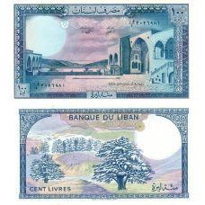 Libanon 1988 100 Livres P66d UNC