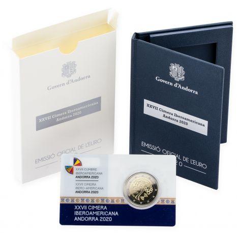 Andorra 2020 2 € Iberoamerikkalainen huippukokous PROOF