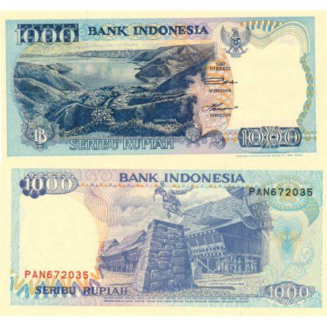 Indonesia 2000 1000 Rupiah P129i UNC