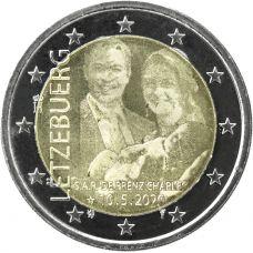 Luxemburg 2020 2 € Prinssi Charles valokuva UNC