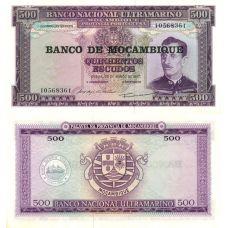 Mosambik 1967 500 Escudos P118 UNC