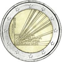 Portugali 2021 2 € EU:n neuvoston puheenjohtajuus UNC