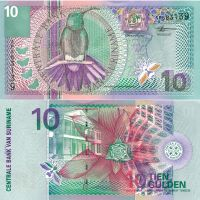 Suriname 2000 10 Gulden P147 UNC
