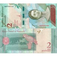 Venezuela 2018 2 Bolivares P101a UNC