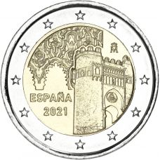 Espanja 2021 2 € Toledo UNC