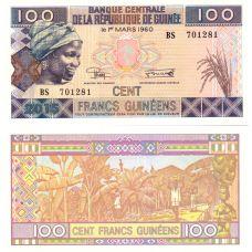 Guinea 2015 100 Francs P46A UNC