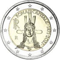 Italia 2021 2 € Rooma pääkaupunkina 150 vuotta UNC