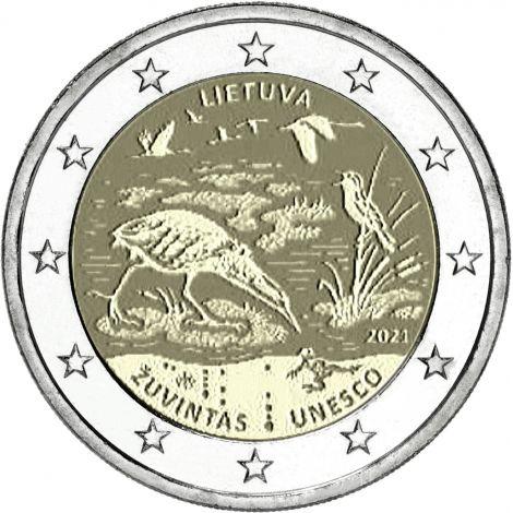 Liettua 2021 2 € Žuvintasin biosfäärialue UNC