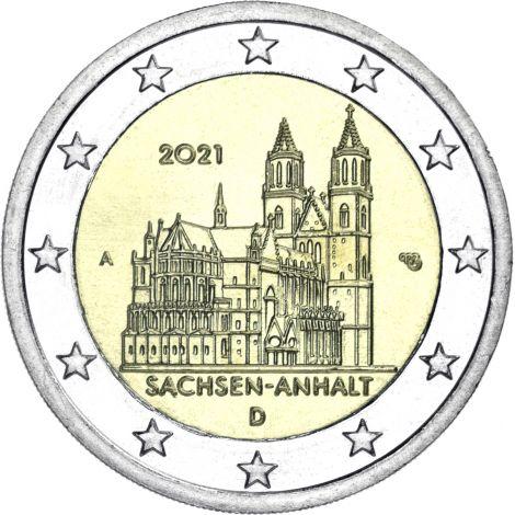 Saksa 2021 2 € Sachsen-Anhalt A UNC
