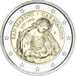 San Marino 2021 2 € Caravaggio COINCARD