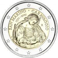 San Marino 2021 2 € Caravaggio UNC
