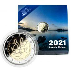 Suomi 2021 2 € Journalismi PROOF