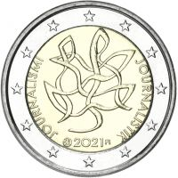 Suomi 2021 2 € Journalismi UNC