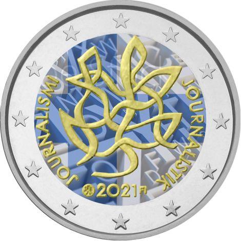 Suomi 2021 2 € Journalismi VÄRITETTY