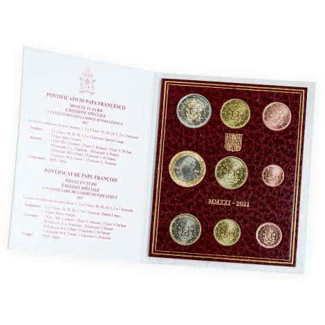 Vatikaani 2021 8,88 € Rahasarja BU