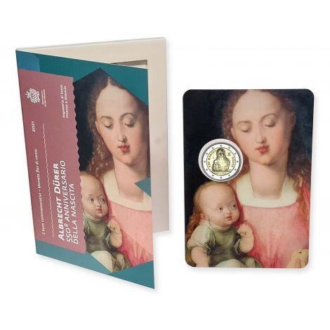 San Marino 2021 2 € Albrecht Dürer COINCARD