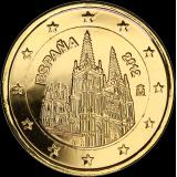 Espanja 2012 2 € Burgos KULLATTU