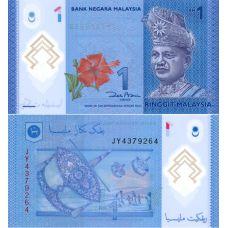 Malesia 2011 1 Ringgit P51a UNC