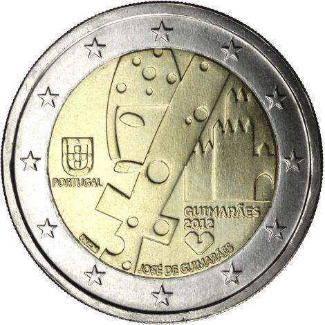 Portugali 2012 2 € Guimaraes UNC