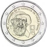 Ranska 2012 2 € Abbe Pierre UNC