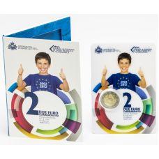 San Marino 2012 2 € Euro 10 vuotta UNC