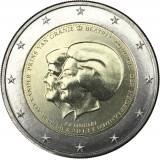 Alankomaat 2013 2 € Double Portrait UNC