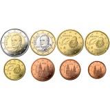 Espanja 2012 1 c – 2 € Irtokolikot UNC