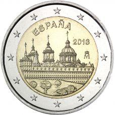 Espanja 2013 2 € El Escorial UNC