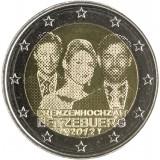 Luxemburg 2012 2 € Royal Wedding UNC