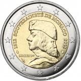 Monaco 2012 2 € Lucien Grimaldi Irtokolikko UNC