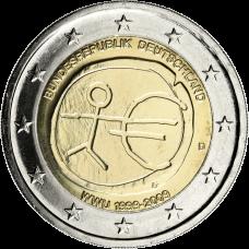 Saksa 2009 2 € EMU D UNC