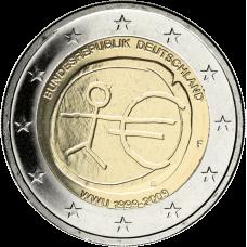 Saksa 2009 2 € EMU F UNC