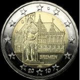 Saksa 2010 2 € Bremen D UNC