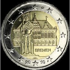 Saksa 2010 2 € Bremen G UNC