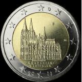 Saksa 2011 2 € Westfalen F UNC