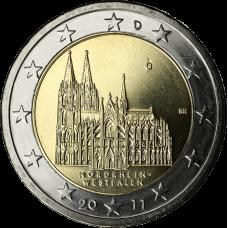 Saksa 2011 2 € Westfalen G UNC