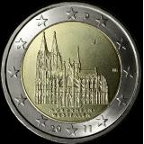 Saksa 2011 2 € Westfalen J UNC