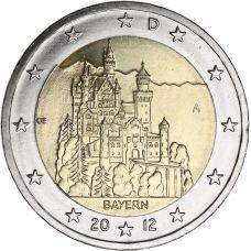 Saksa 2012 2 € Bayern A UNC
