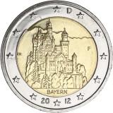 Saksa 2012 2 € Bayern F UNC