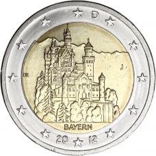 Saksa 2012 2 € Bayern J UNC