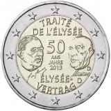 Saksa 2013 2 € Élysée-sopimus 50 vuotta D UNC