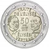 Saksa 2013 2 € Élysée-sopimus 50 vuotta J UNC