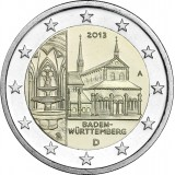 Saksa 2013 2 € Maulbronnin luostari A UNC