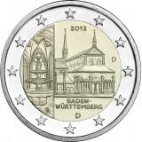 Saksa 2013 2 € Maulbronnin luostari D UNC