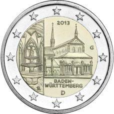 Saksa 2013 2 € Maulbronnin luostari G UNC