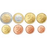 Suomi 2013 1 c – 2 € Irtokolikot UNC