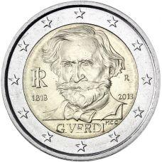 Italia 2013 2 € Giuseppe Verdi UNC