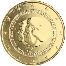 Alankomaat 2013 2 € Double Portrait KULLATTU