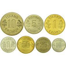 Islanti 10 Aurar - 10 Kronur UNC